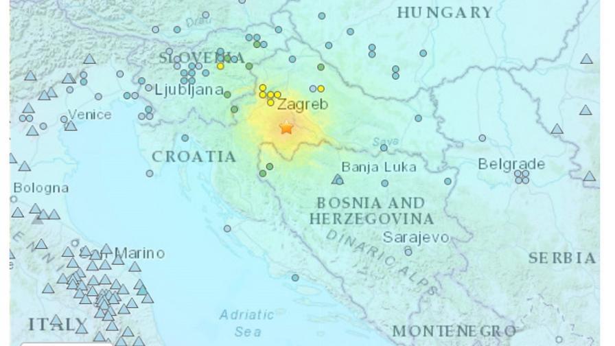 <p>Нов трус в Хърватия, разрушения и загинали</p>