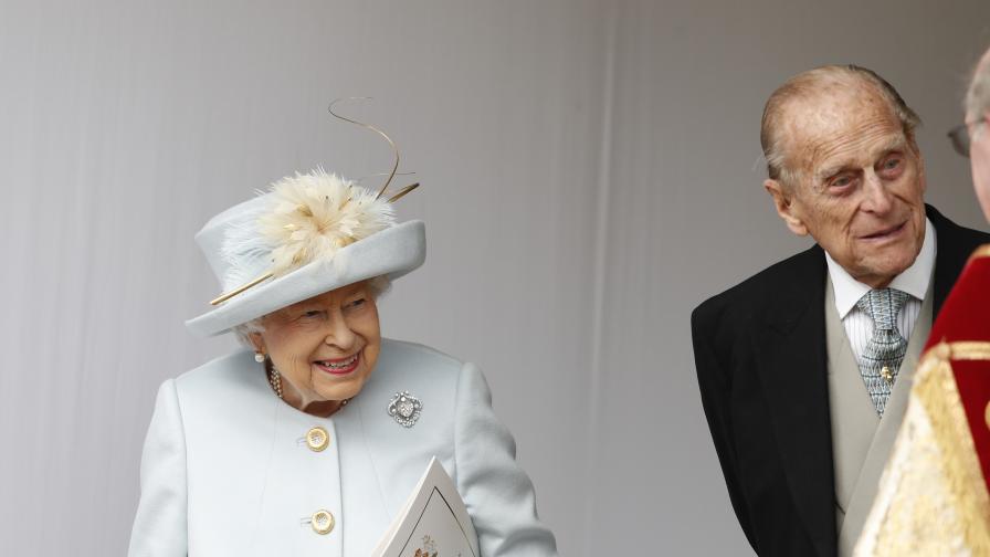 Кралица Елизабет II, принц Филип