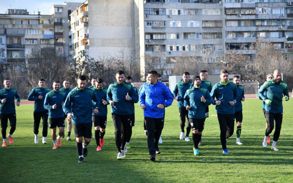 Втората приятелска среща на Черно море от зимната подготовка ще