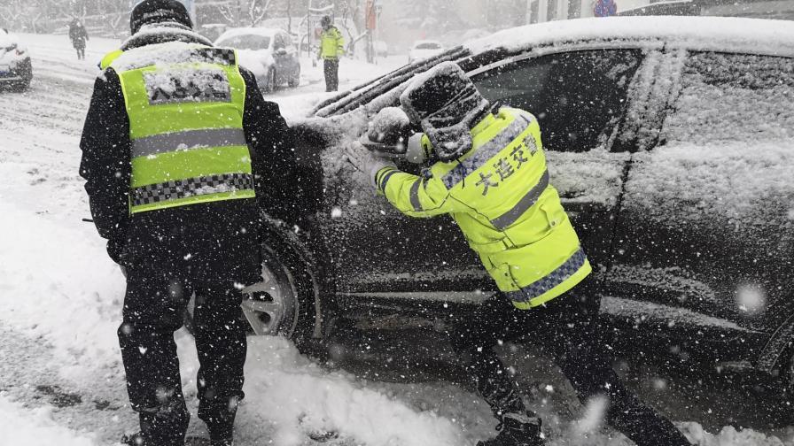 <p>Рекорден студ смрази Пекин</p>