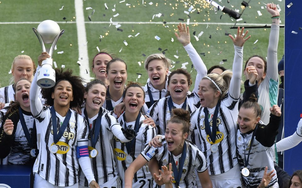 Ювентус спечели Суперкупата на Италия