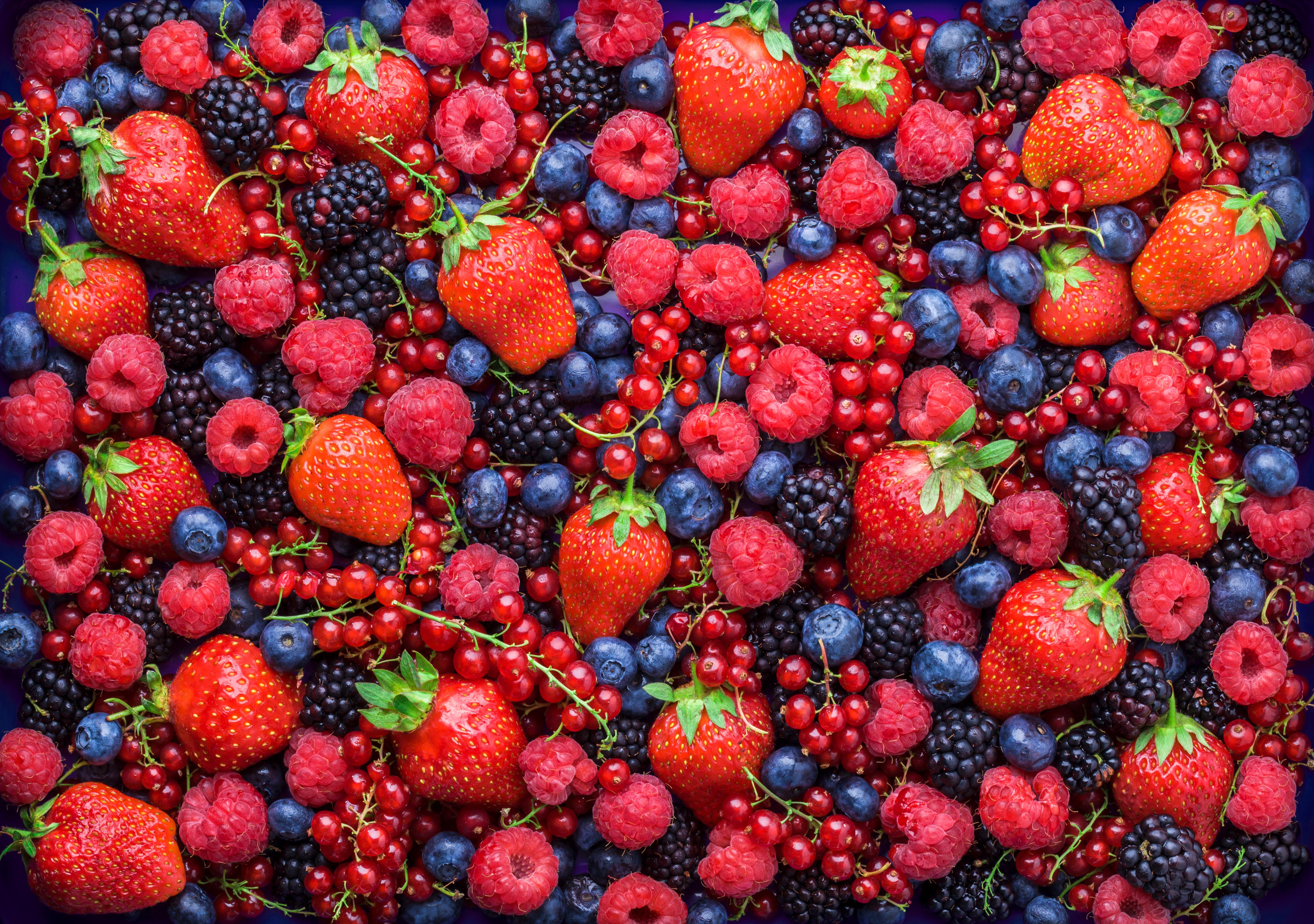 <p><strong>Горски плодове</strong></p>  <p>Горските плодове са много богати на антиоксиданти и са едни от най-полезните храни. Ягодите, боровинките, къпините и малините са не само вкусни, но и полезни. Колкото по-тъмен е един горски плод, толкова повече антиоксиданти съдържа.</p>