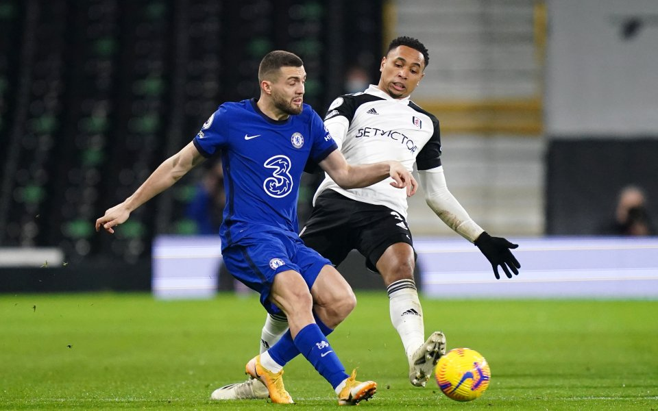 Фулъм и Челси играят при резултат 0:0 в лондонското дерби