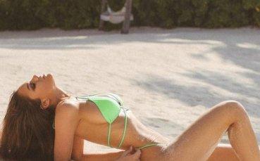 Одинцова се снима дибидюс на Малдивите