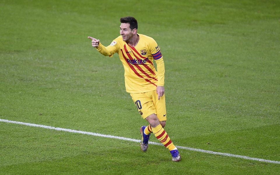 Суперзвездата наБарселонаЛионел Месище е титуляр в тазвечершния финал за Суперкупата