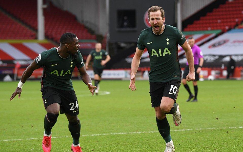 Тотнъм спечели гостуването си на последния Шефилд Юнайтед с 3:1.
