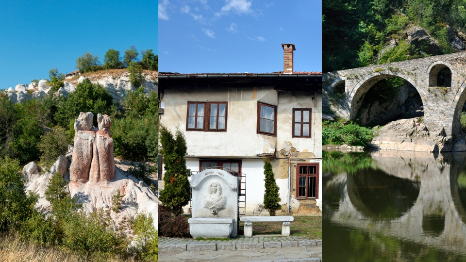 пътуване места българия