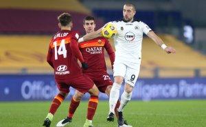 НА ЖИВО: Гълъбинов носи Специя на ръце срещу Рома (видео)