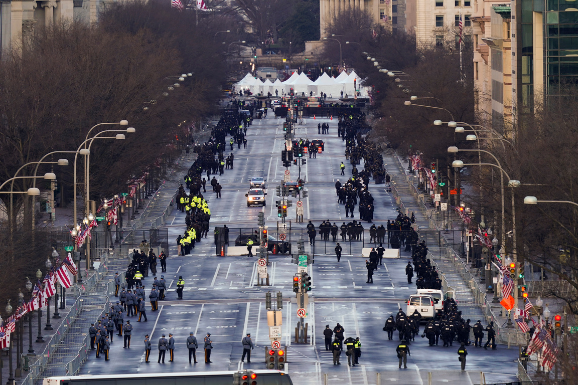 <p>Днес новият 46-и президент на САЩ Джоузеф Байдън ще встъпи в длъжност.</p>
