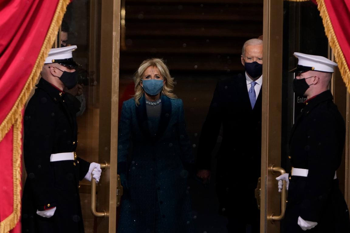 <p>Новият 46-и президент на САЩ Джоузеф Байдън встъпва в длъжност</p>