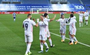 Вдъхновен Реал изми срама и се върна към победите