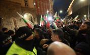 Протестиращи опитаха да нахлуят в Министерски съвет