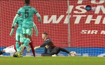 Втори гол за Салах и Ливърпул изравни