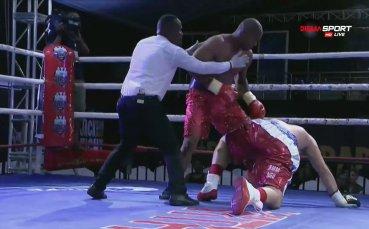 Контузия донесе най-голямата победа за Хамади Джонго