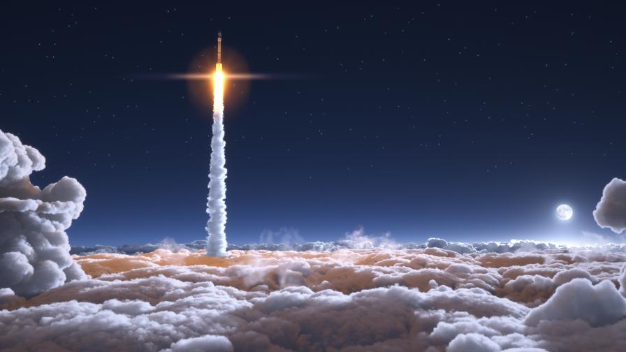 SpaceX търси първите си космически пътници за 2023 г.