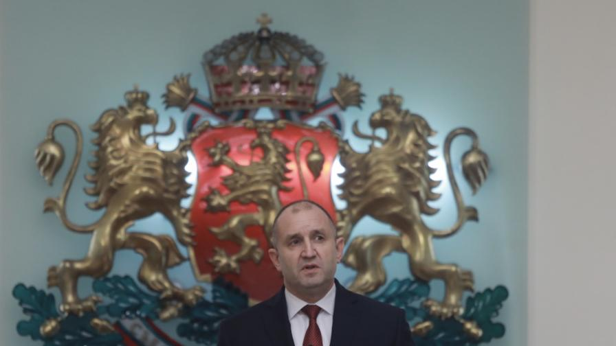 Радев назначи новото служебно правителство на България
