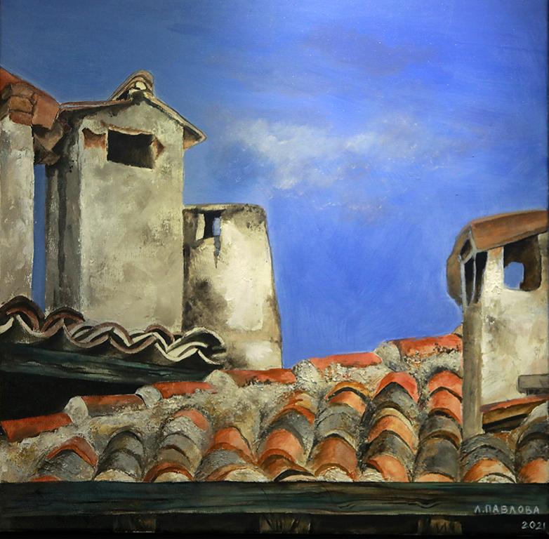 <p>Лилия Павлова, &bdquo;Прозорец в небето&ldquo;, м.б.</p>