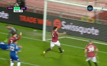 Евертън шокира Ман Юнайтед в последните секунди - 3:3