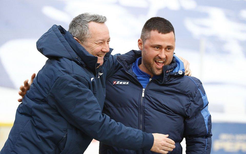 Треньорът на Спортист Своге Ивайло Василев бе много разочарован при