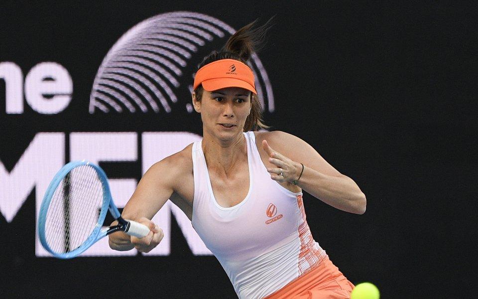 Цветана Пиронкова се класира за четвъртфиналите на турнира на турнира