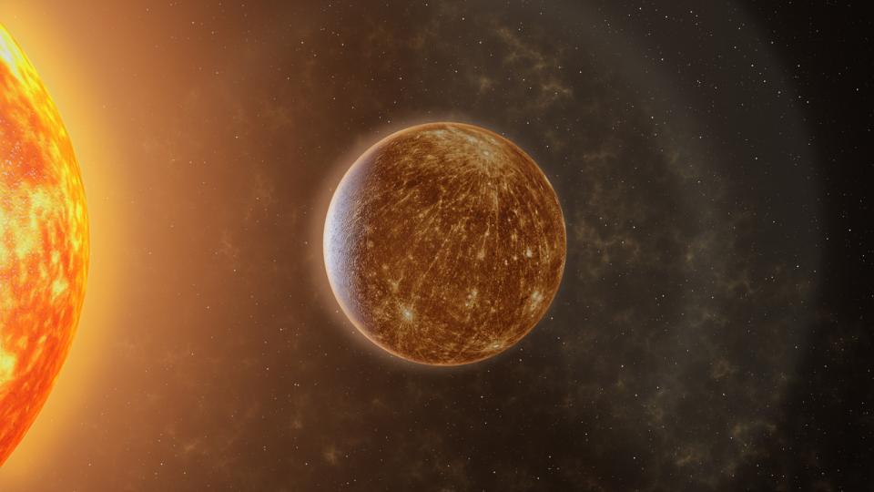 Слънце Меркурий космос планета планети