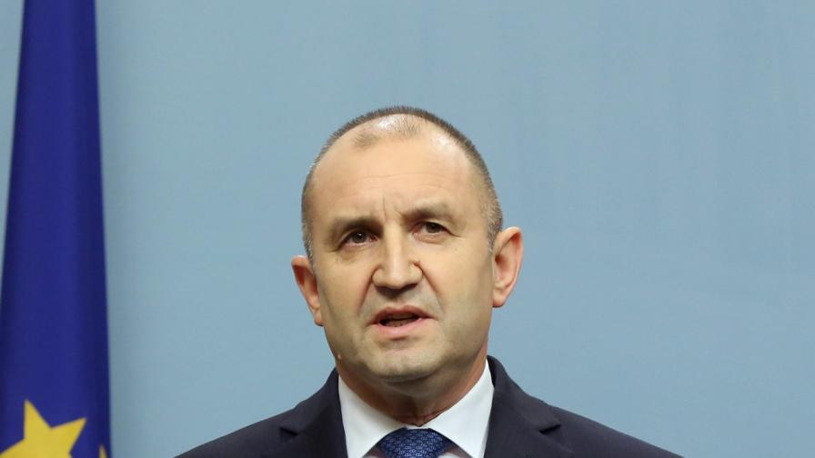 Радев призова за реакция към Северна Македония