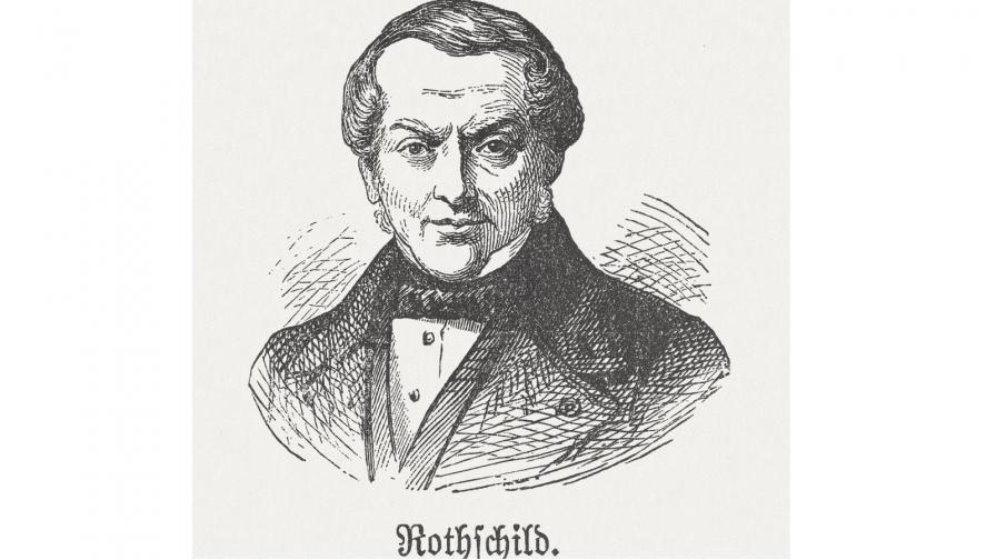 Джейкъб Майер Ротшилд - основателят на френския клон на влиятелната фамилия