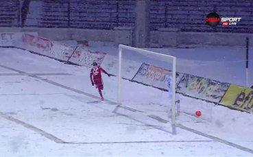 Али Соу проби снега и ЦСКА поведе
