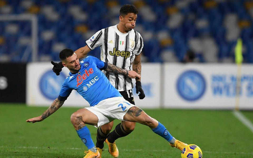 Двубоят от Серия А между Ювентус и Наполи ще се