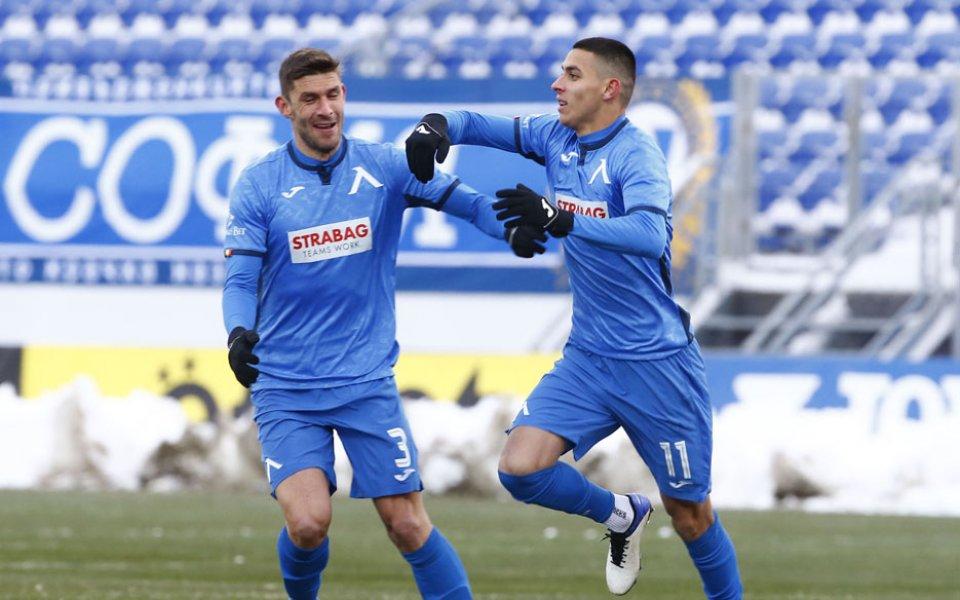 Централният защитник на Левски Живко Атанасов заяви, че тимът му