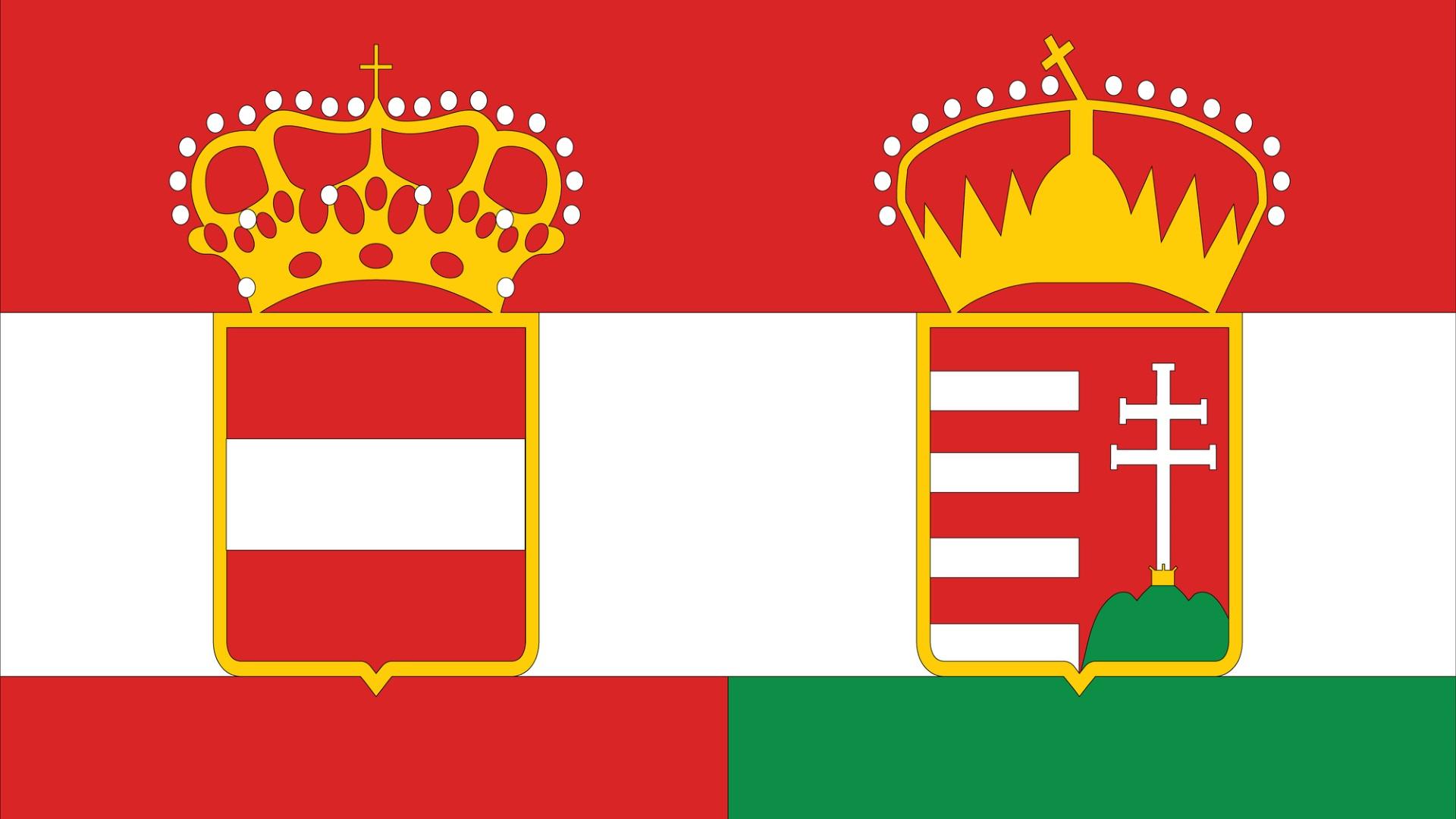 <p><strong>Австро-Унгария</strong></p>  <p>Създадена през 1867 г. чрез съюз на Австрийската империя с кралство Унгария, Австро-Унгария включва 11 различни етнически групи и е най-голямата католическа империя по онова време. Тя съществува до 1918 г., когато се поддава на националистически настроение и се разпада на Австрия, Унгария, Полша, Чехословакия и Югославия.</p>