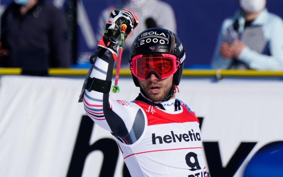 Французинът Матю Фавре завоюва златото на Световното първенство по ски-алпийски
