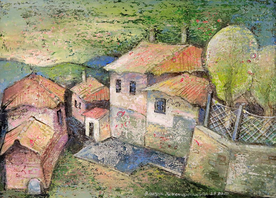 <p>От много години в областта на живописта съм свързана със старинните български градове, които ме вдъхновяват с красотата си и с неповторимата си архитектура.</p>