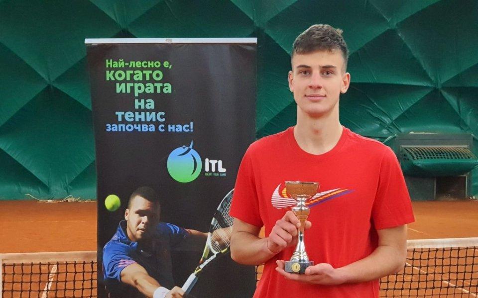 Мартин Боршуков спечели четвъртия чалънджър