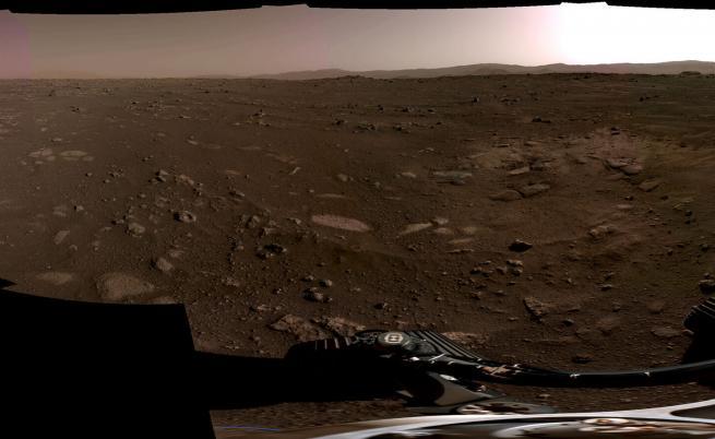 НАСА показа зрелищно видео от кацането на Марс