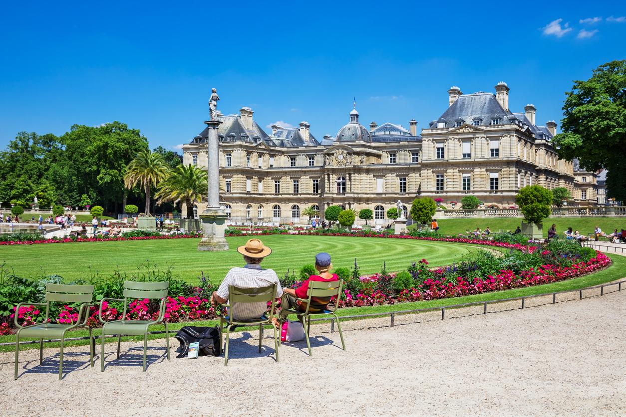<p>Люксембургската градина в Париж</p>