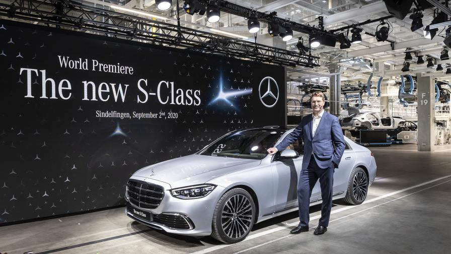 Daimler обмисля по-ранно спиране на колите с ДВГ