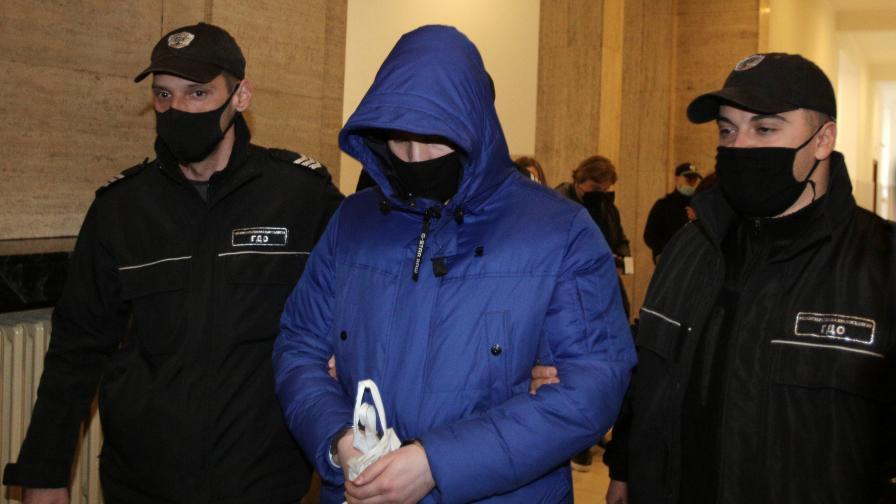 В Софийски градски съд започна по същество делото срещу Кристиан Николов (на снимката)