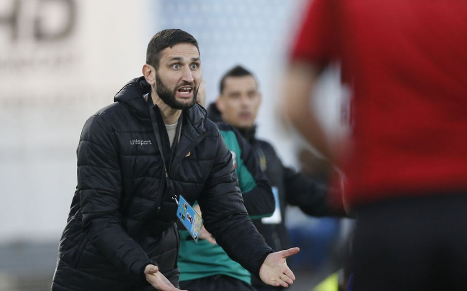 Треньорът на Локомотив Пловдив Александър Тунчев бе много разочарован .