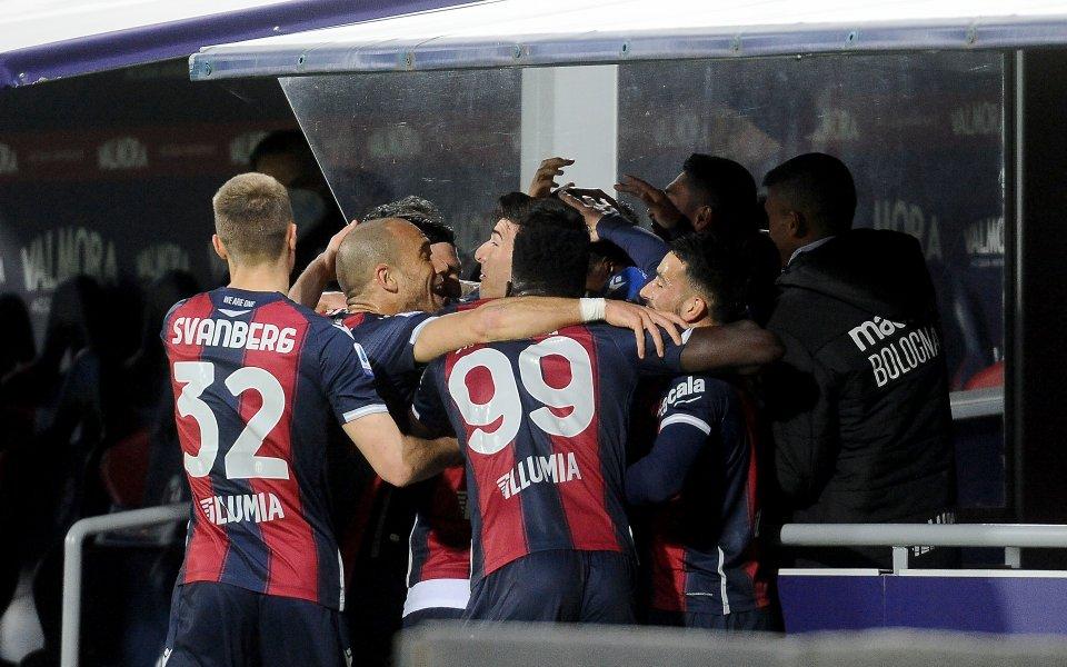 """Болоня срази Лацио на """"Ренато Дал'Ара"""", Михайлович отново не даде шанс на Антов"""