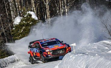 Танак увеличи аванса си на върха в класирането във Финландия