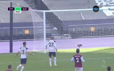Бейл с втори гол срещу Бърнли