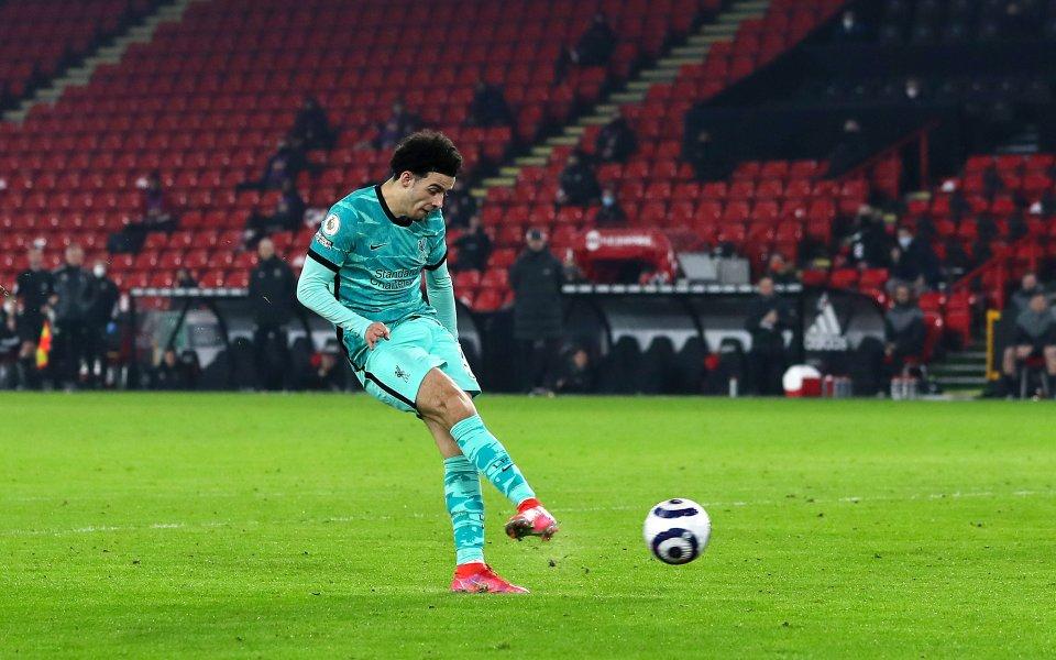 Полузащитникът на Ливърпул Къртис Джоунс посвети своя гол при победата