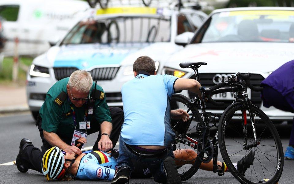 Въпреки ужасяващия инцидент, Якобсен ще се състезава отново