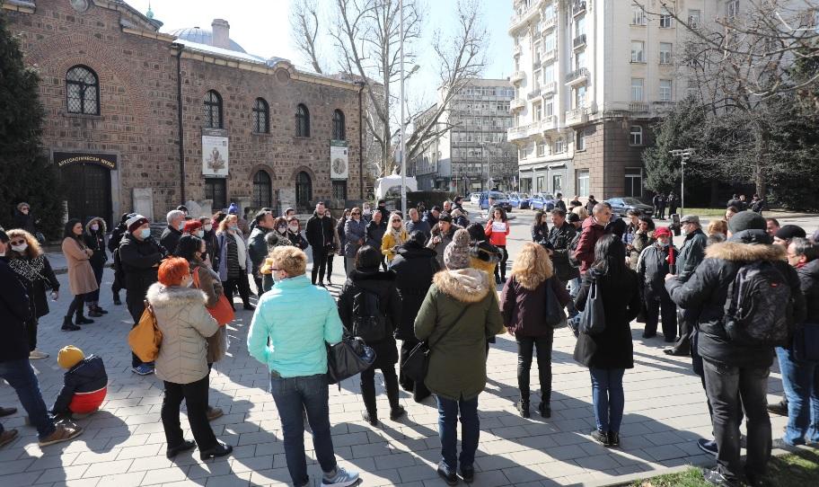 <p>Туристическият бранш излезе на протест</p>