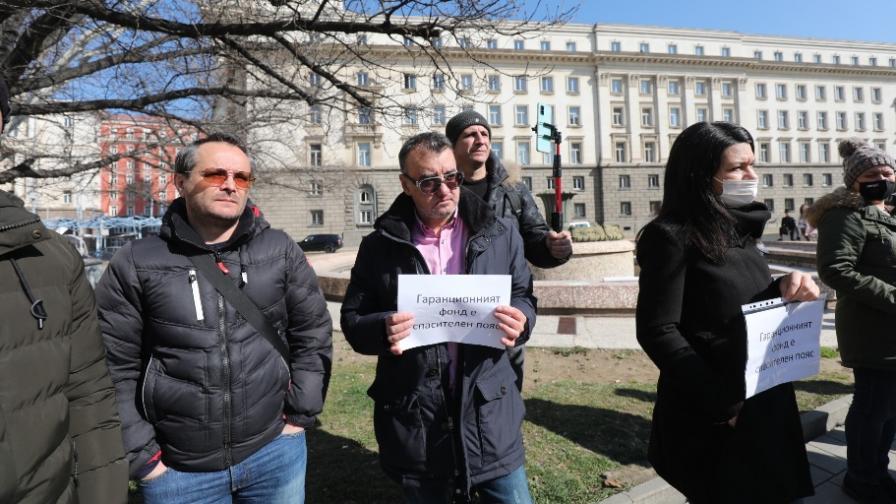 Туристическият бранш излезе на протест