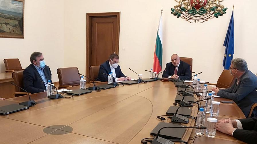 Съвещание с представители на НОЩ при премиера Бойко Борисов