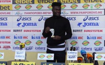 Жорди Кайседо стана Играч №1 на 18-ия кръг в efbet Лига