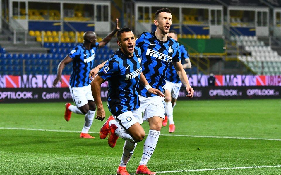 Интер страда срещу Парма, но увеличи аванса си пред Милан