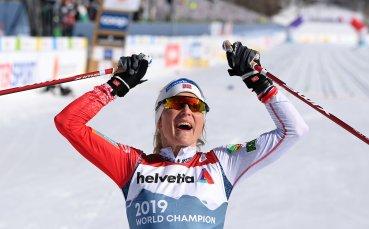 Терезе Йохауг спечели 4-ата си титла на 30 км ски бягане на СП в Оберстдорф